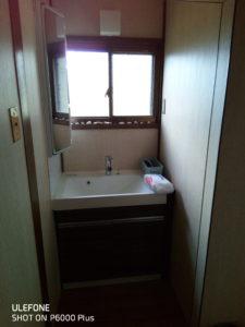 ゲストハウスの洗面台